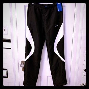 NWT Reebok Warmup Pants